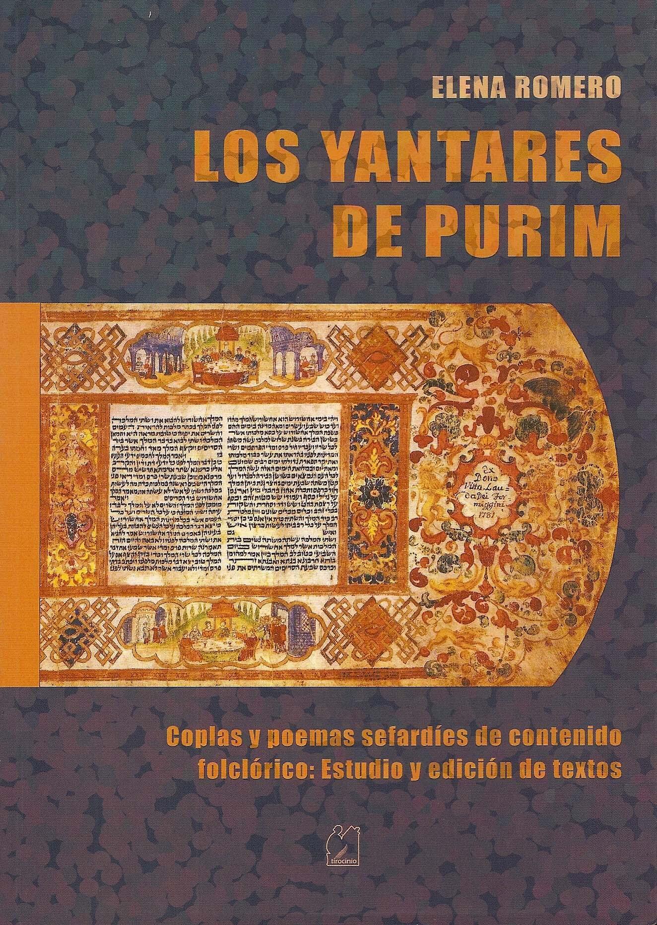 Los Yantares de Purim. Coplas y poemas sefardíes de contenido folclórico: Estudio y Edición de Textos