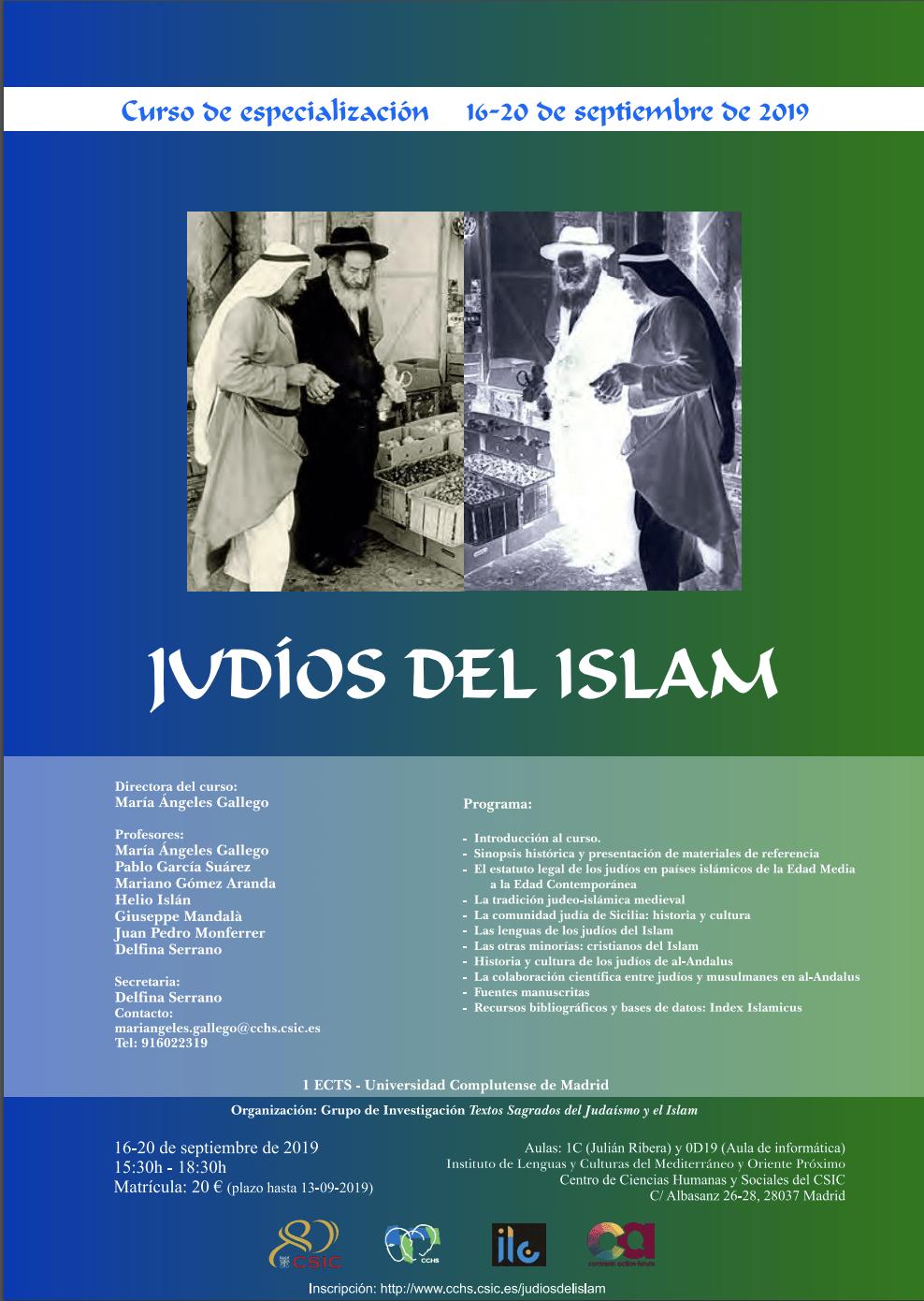 Curso Judíos del Islam
